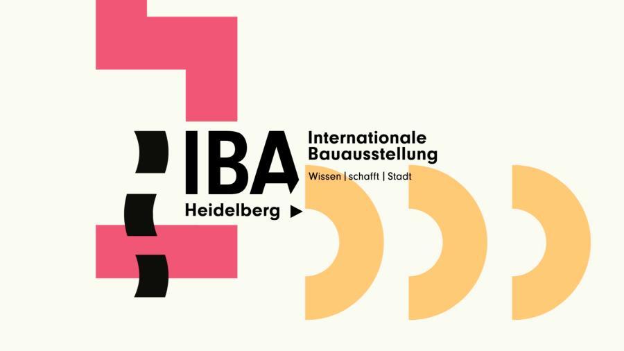 Ausschnitt aus IBA Heidelberg Wissen Schafft Stadt - Titel mit Text