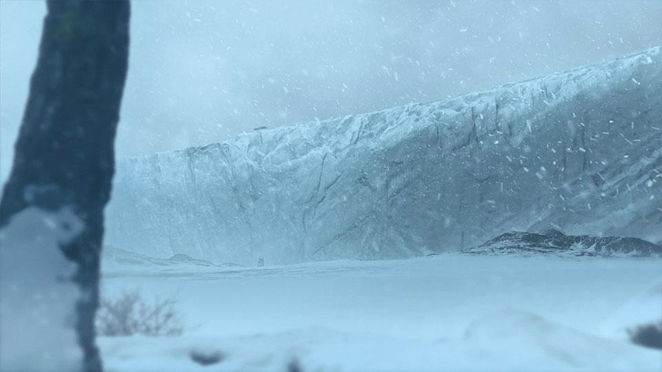 CG Eismauer aus dem Badenova Extrawärme Kinospot