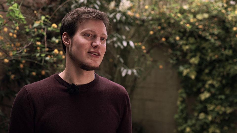 Ausschnitt aus IBA Heidelberg Wissen Schafft Stadt - Mann im Interview