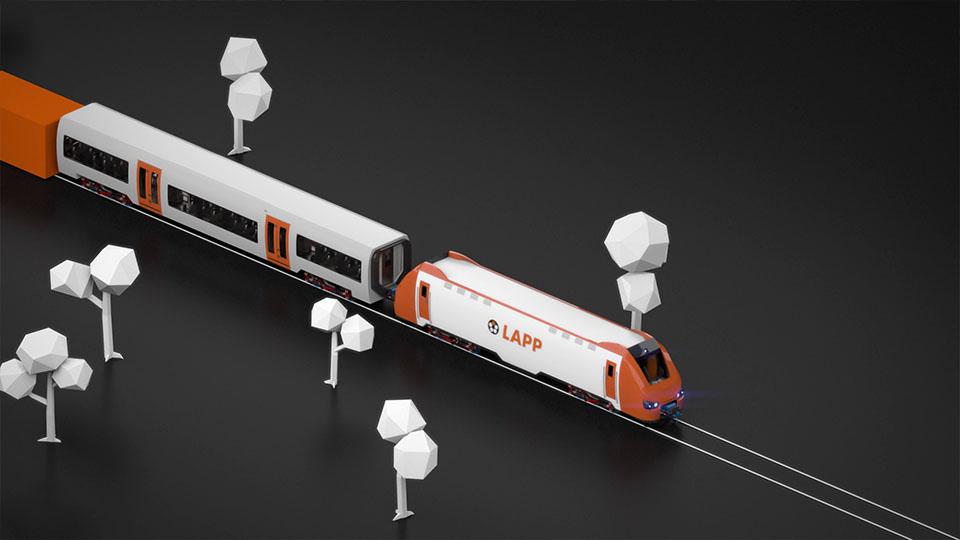3D Lapp Train