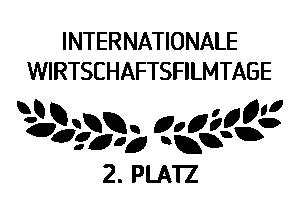 Award Internationale Wirtschaftsfilmtage zweiter Platz
